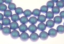 Perle Swarovski, iridescent light blue, 2mm - x100