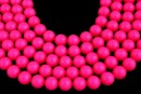 Perle Swarovski, neon pink, 2mm - x100