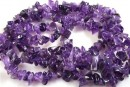 Intense amethyst - chips - ametist intens, 87cm