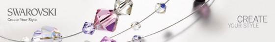 Perle Swarovski cu orificiu mare