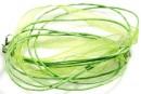 Snur pret-a-porter verde fistic - x3