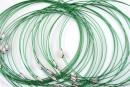 Baza colier, verde - x3