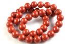 Red jasper, round, 4.5mm