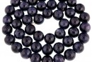 Sapphire, natural stone, blue, round, 8mm