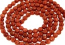 Brown goldstone, faceted round, 3mm