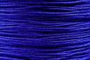 Bobina snur matase pentru bratari, albastru cobalt, 0.8mm - x100m