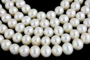 Freshwater Pearls - 8.5-9mm White