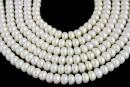 Perle de cultura - 7x5mm, alb