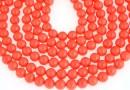 Perle Mallorca, rotund, corai, 5mm