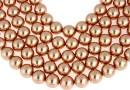Swarovski pearl, rose gold, 10mm - x20