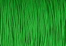 Snur matase cu guta, pentru bratari, verde crud, 0.8mm - x5m