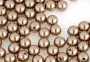 Perle Swarovski cu un orificiu, bronze, 5mm - x4