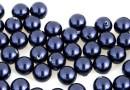 Perle Swarovski cu un orificiu, night blue, 6mm - x4