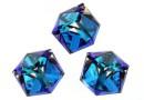 Swarovski, cabochon cub, bermuda blue, 6mm - x1