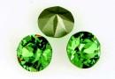 Swarovski, chaton SS39, fern green, 8mm - x2