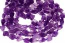 Amethyst rough stone, free form, 14-17mm