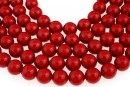 Perle Swarovski, red coral, 14mm - x2