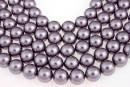 Swarovski pearls, mauve, 14mm - x2