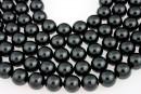 Swarovski pearls, black, 14mm - x2