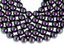 Perle Swarovski, iridescent purple, 14mm - x2