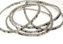 1088 Swarovski classic elegance mix bracelet, rhodium plated, 18cm - x1