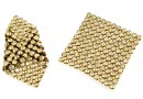 Swarovski Crystal mesh, golden shadow, 3.2x3.2cm - x1