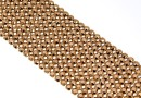 Swarovski Crystal mesh, rose gold, 20x3.2cm - x1