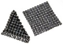 Swarovski, crystal mesh, silver night, 3.2x3.2cm - x1