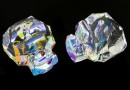 Swarovski, Panther bead, aurora borealis, 14mm - x1