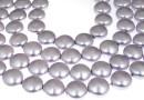 Swarovski disk pearls, lavander, 16mm - x2