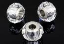 Swarovski, becharmed briolette, crystal, 14mm - x1