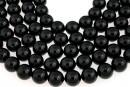 Swarovski pearls, mystic black, 16mm - x1