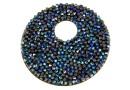 Swarovski, pand. fine rocks, bermuda blue, 40mm - x1