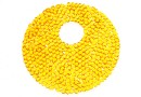 Swarovski, pand. fine rocks, sunflower, 40mm - x1