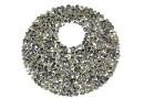 Swarovski, pand. fine rocks, mettalic light gold, 40mm - x1