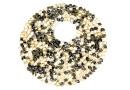Swarovski, pand. fine rocks, golden shadow mettalic gold, 40mm - x1