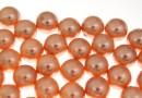Perle Swarovski cu un orificiu, rose peach, 12mm - x2