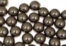 Perle Swarovski cu un orificiu, brown, 12mm - x2