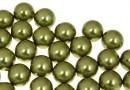 Perle Swarovski cu un orificiu, light green, 6mm - x4
