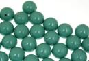 Perle Swarovski cu un orificiu, jade, 8mm - x2