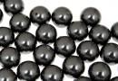 Perle Swarovski cu un orificiu, black, 10mm - x2