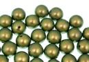 Perle Swarovski cu un orificiu, iridescent green, 8mm - x2
