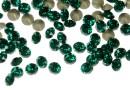 Swarovski, chaton pp21, emerald, 2.8mm - x20
