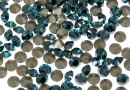Swarovski, chaton pp21, blue zircon satin, 2.8mm - x20