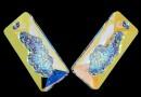 Swarovski, pandantiv growing rectangle, aurore boreale, 36mm - x1