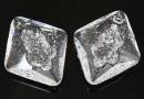 Swarovski, pandantiv growing rhombus, crystal, 26mm - x1