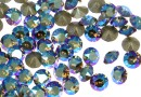 Swarovski, chaton pp32, black diamond shimmer, 4mm - x10