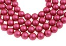 Perle Swarovski, mulberry pink, 5mm - x100