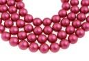 Perle Swarovski, mulberry pink, 12mm - x10