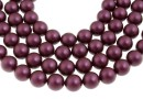 Swarovski pearl, elderberry, 8mm - x50